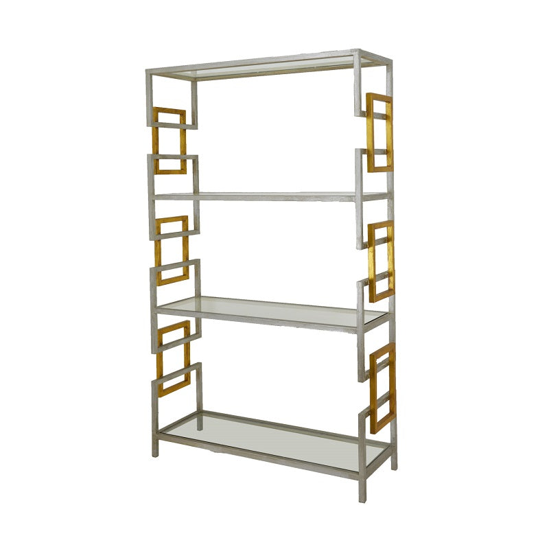 Sulu Silver and Gold Large Shelf