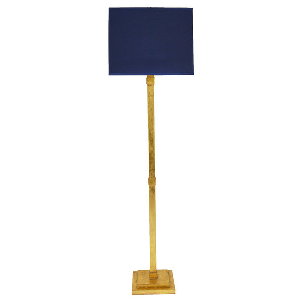 Swist Gold Leaf Floor Lamp- Lillian Home