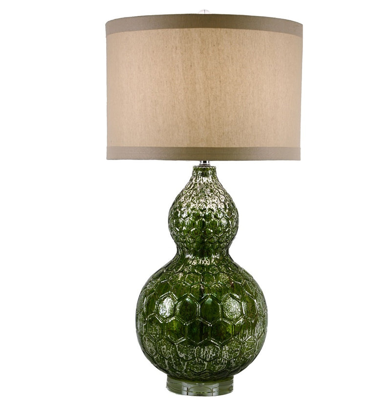 Greenland Mercury Glass Table Lamp - Lillian Home