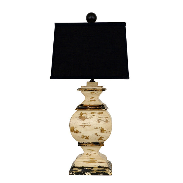 Serena Solid Wood Table Lamp - Lillian Home