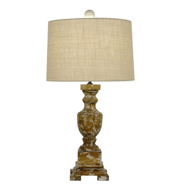 Luella Solid Wood Table Lamp | Lillian Home