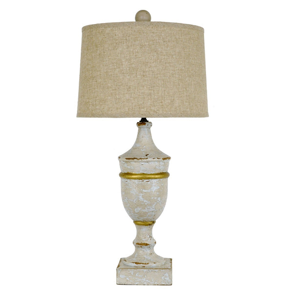 Damian Solid Wood Table Lamp - Lillian Home