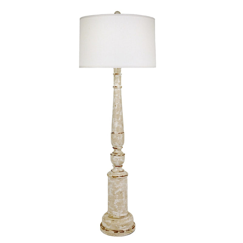 Hank Solid Wood Floor Lamp - Lillian Home