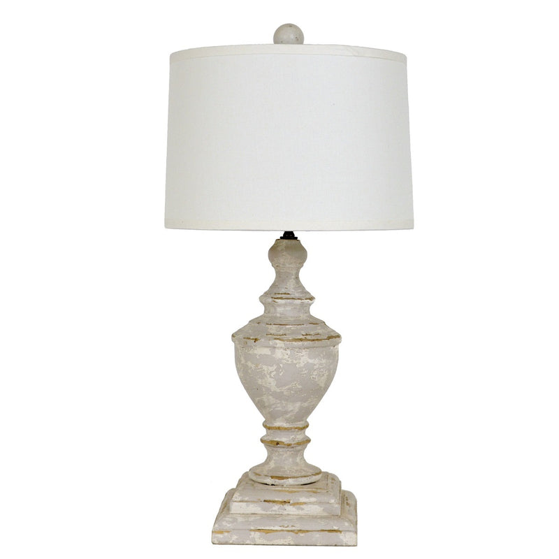 Dustin Solid Wood Table Lamp | Lillian Home