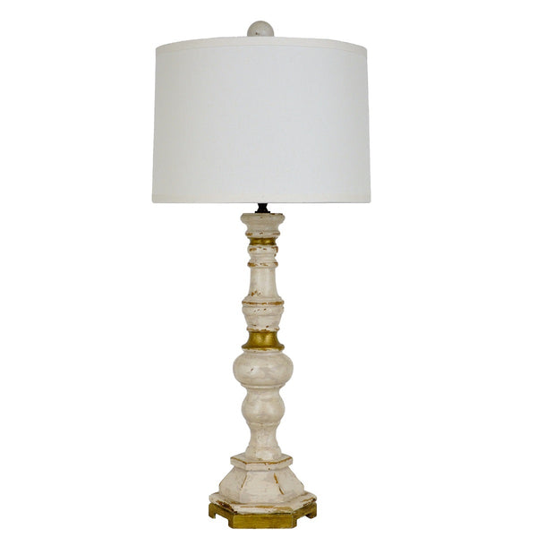 Anderson Solid Wood Table Lamp | Lillian Home
