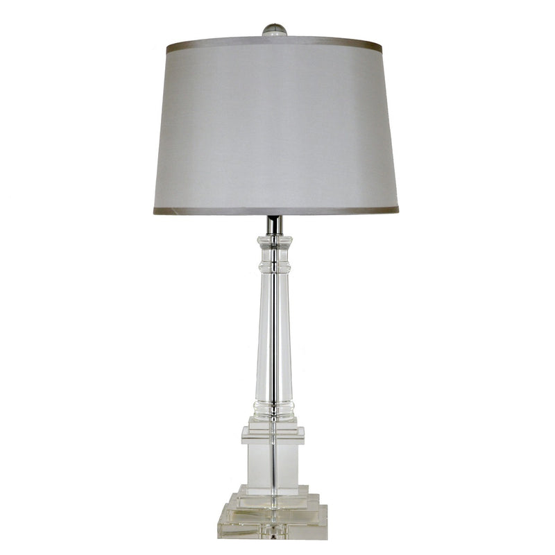 Vara Solid Crystal Table Lamp - Lillian Home