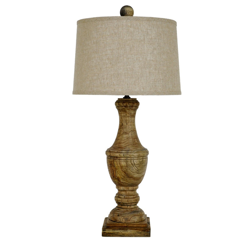 Wes Solid Wood Table Lamp | Lillian Home