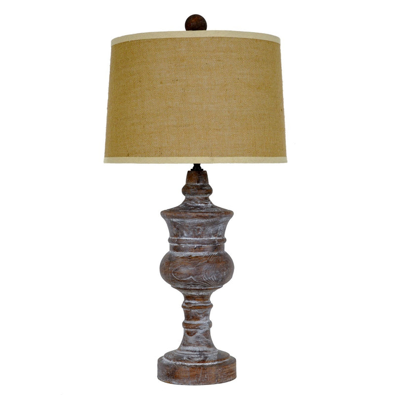 Sasha Solid Wood Table Lamp | Lillian Home
