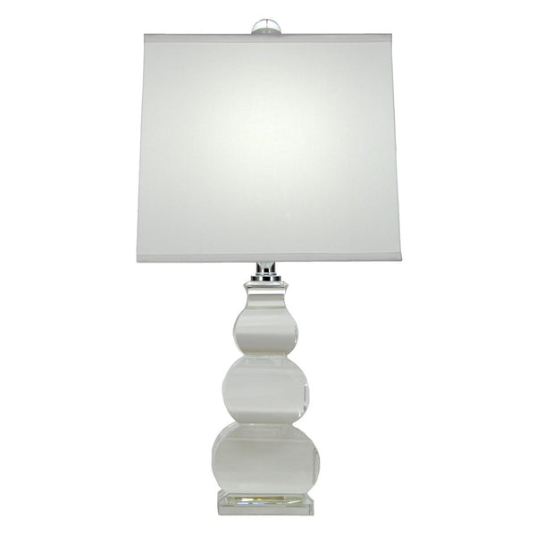 Caliypso Solid Crystal Table Lamp - Lillian Home