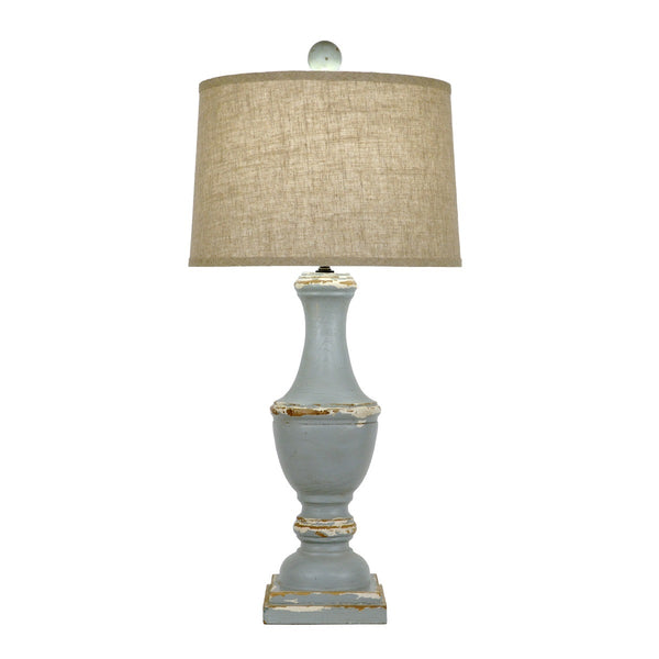 Caterina Solid Wood Table Lamp - Lillian Home
