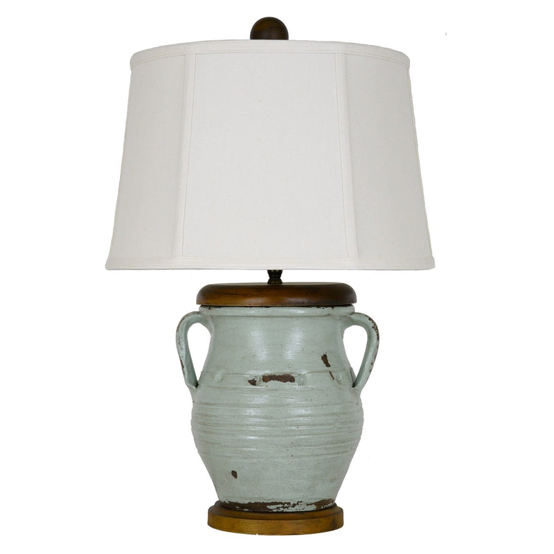 Bjorn Handmade Pottery Table Lamp - Lillian Home