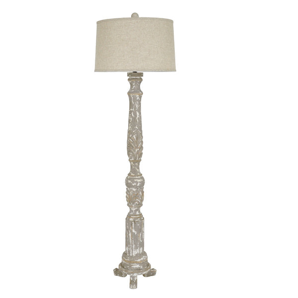 Addison Solid Wood Floor Lamp - Lillian Home