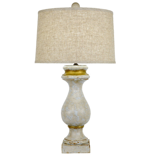 Maurice Solid Wood Table Lamp - Lillian Home