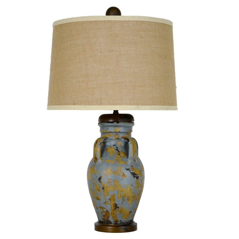 Lucia Pottery Table Lamp - Lillian Home