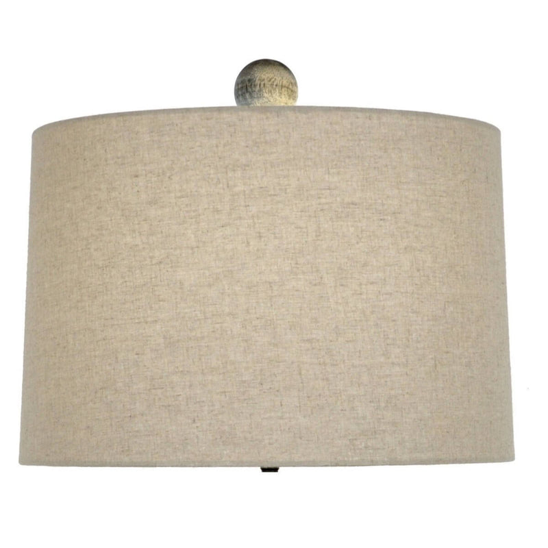 Lillian Home Andreas Solid Wood Table Lamp