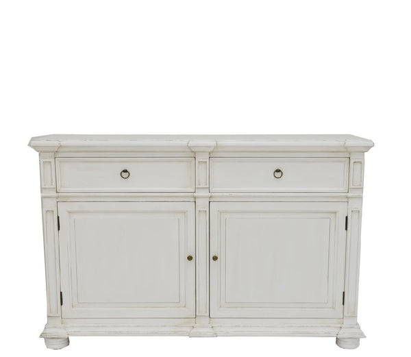Monica Soft White Cabinet - Lillian Home