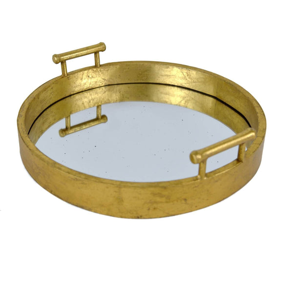 PERLA GOLD LEAF TRAY
