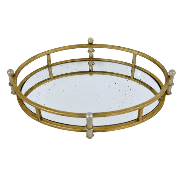 CITY GOLD LEAF TRAY