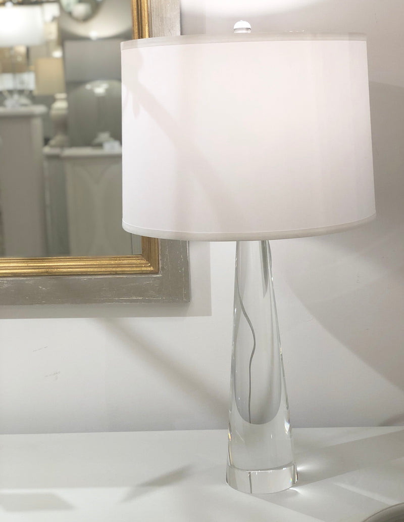 Sally Solid Crystal Table Lamp | Large Crystal Table Lamps