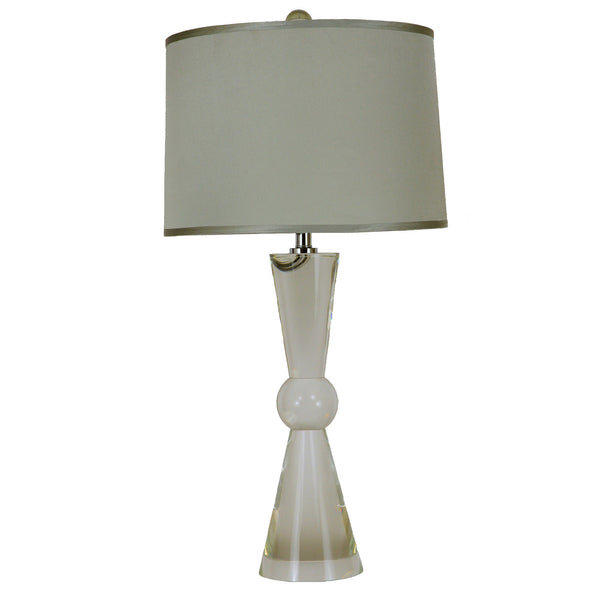Lillian Home Sam Solid Crystal Table Lamp