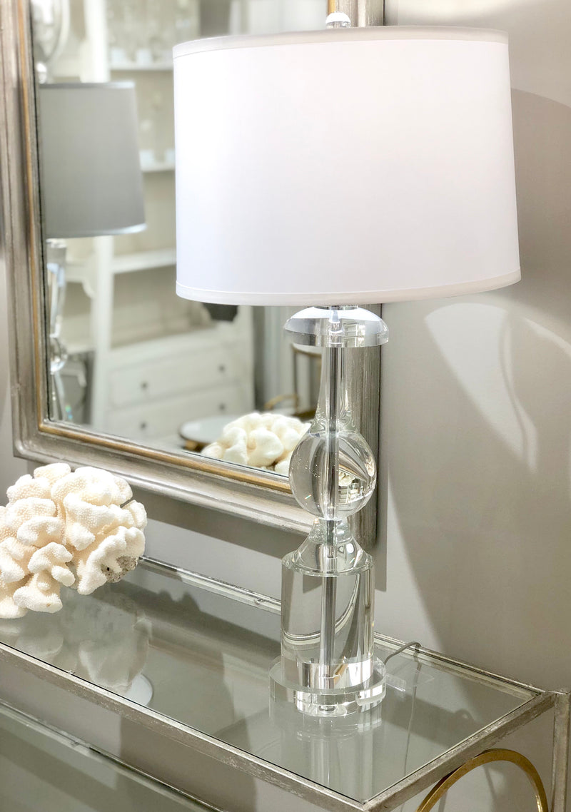 Roma Solid Crystal Table Lamp | Lillian Home | Shop Now