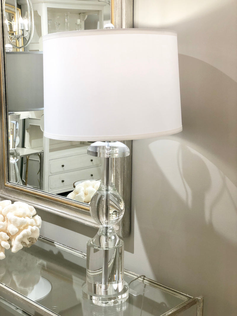 Lillian Home Roma Solid Crystal Table Lamp