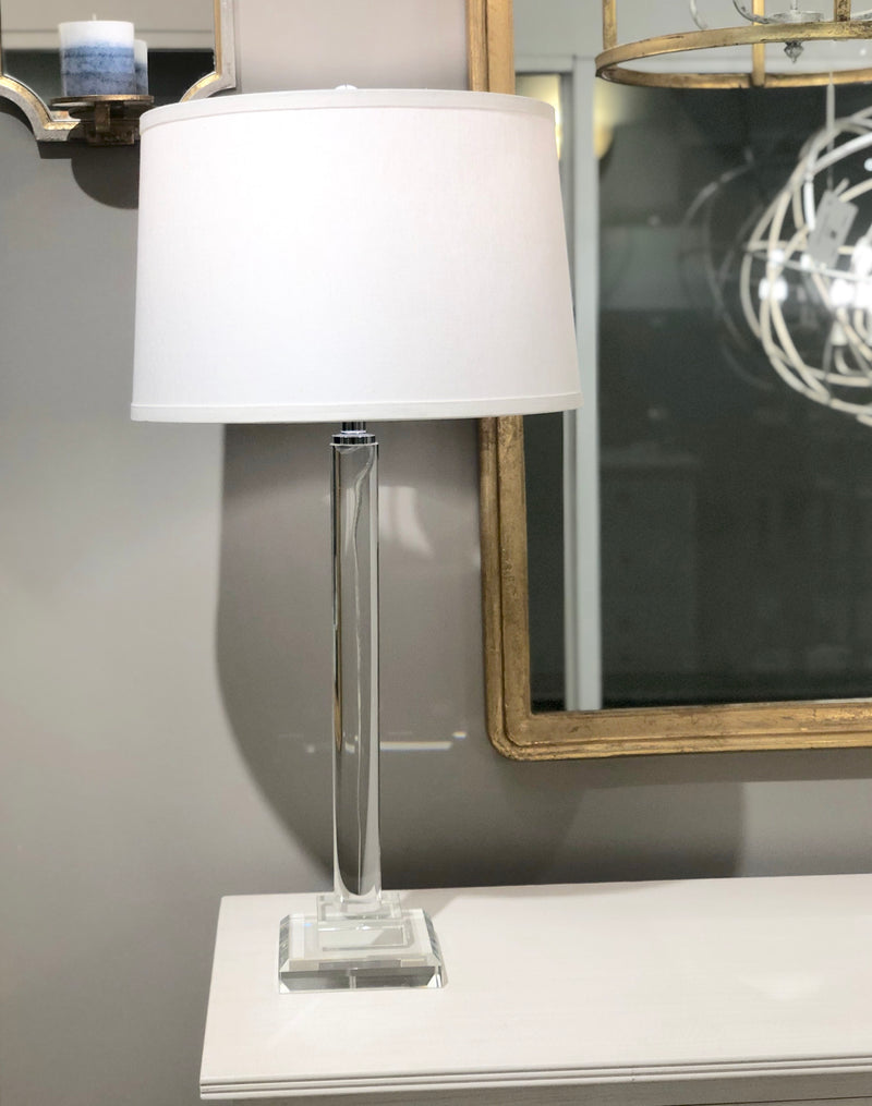Katie Solid Crystal Table Lamp | Lillian Home | Shop Now