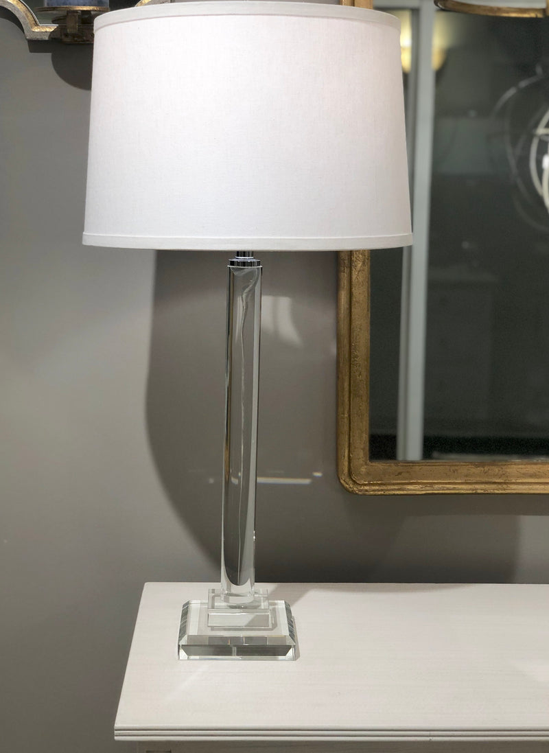 Lillian Home Katie Solid Crystal Table Lamp