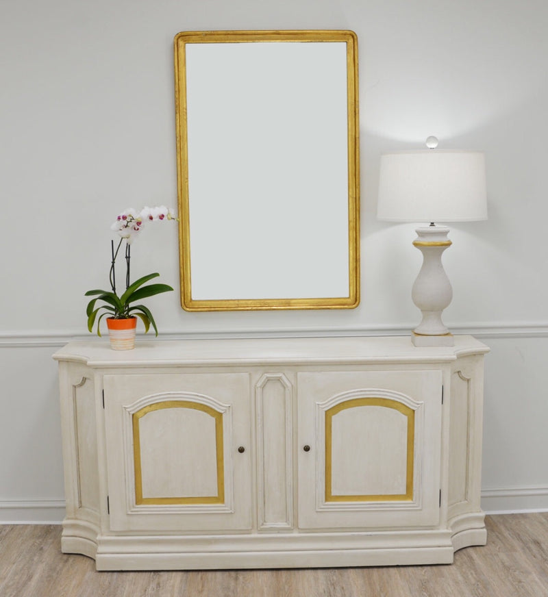 Lana Gold Leaf Wall Mirror