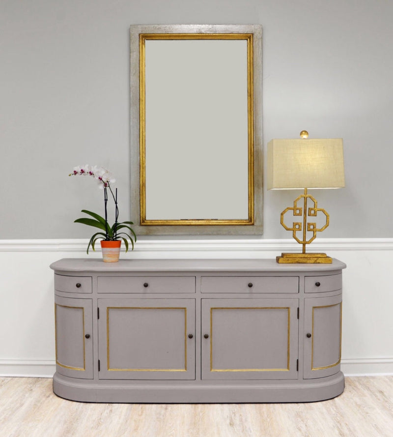 Niko Silver Gold Wall Mirror
