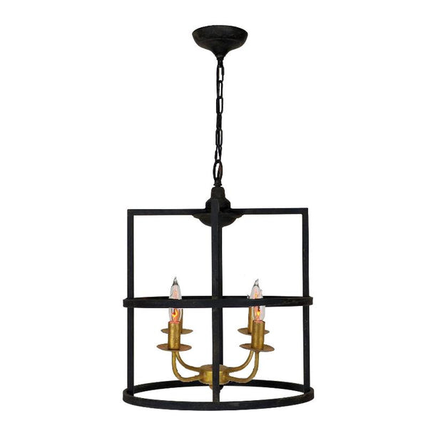 Louisino Black and Gold Pendant Light