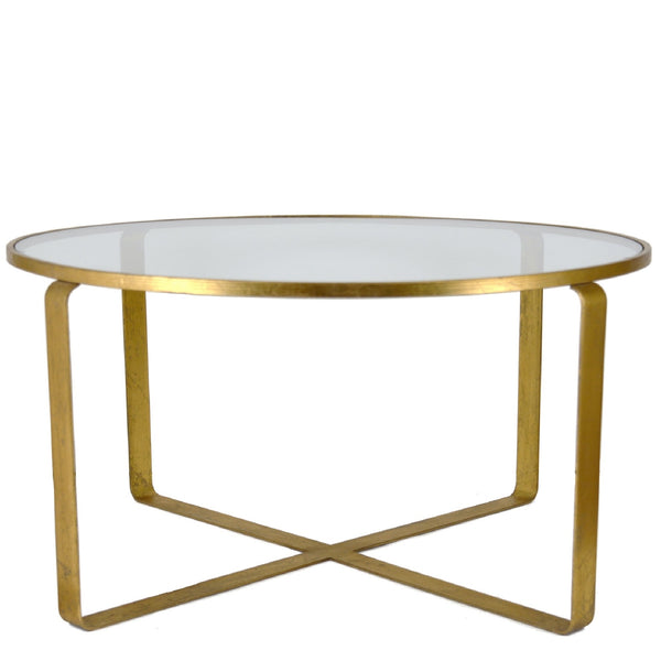 Vincent Gold Leaf Coffee Table