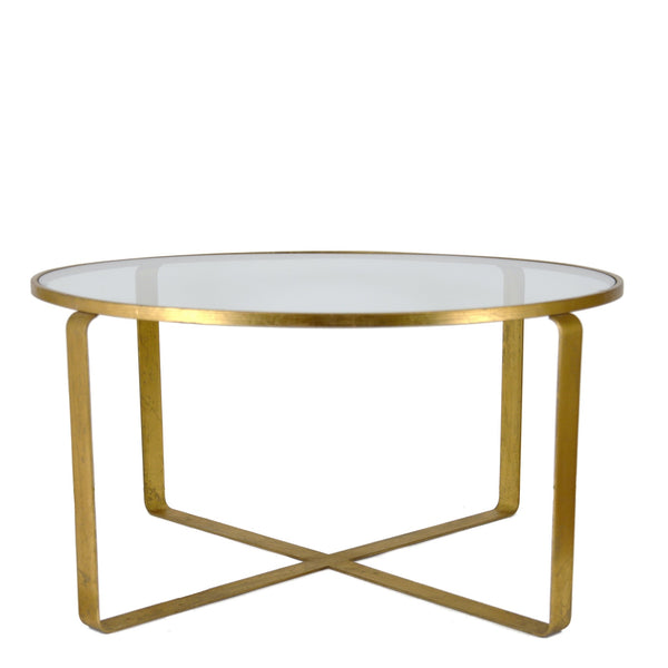 Vincent Gold Coffee Table - Lillian Home