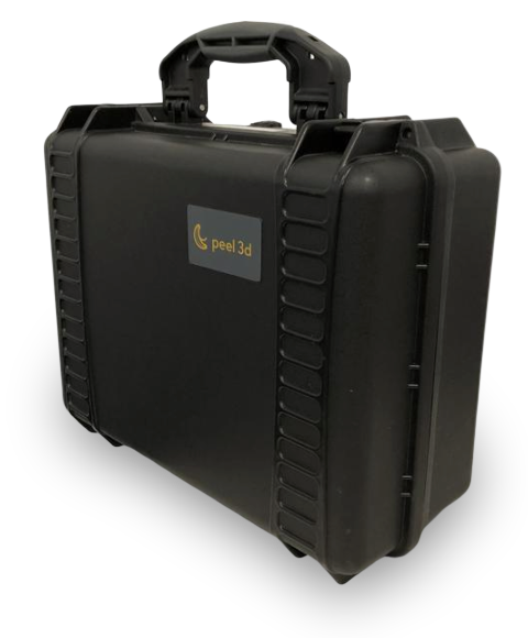 Rugged case for peel 3d