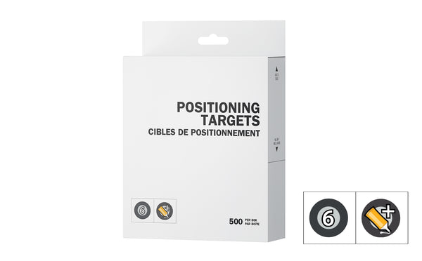 Positioning targets - regular