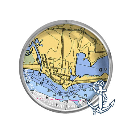 Weekapaug, RI -  Nautical Chart
