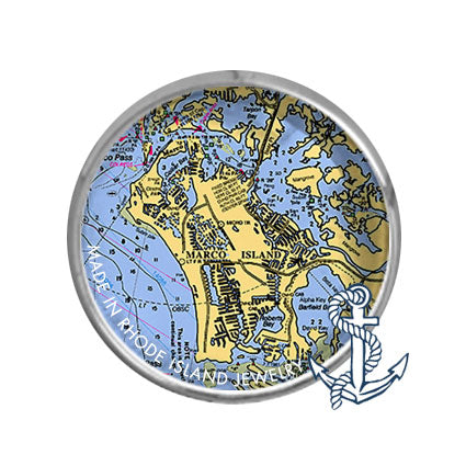 Marco Island, FL -  Nautical Chart