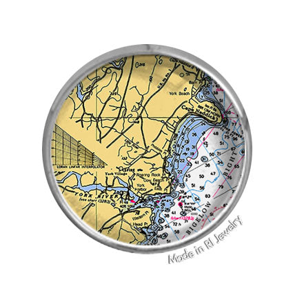 York, ME -  Nautical Chart