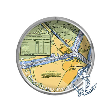 Port Aransas, TX -  Nautical Chart