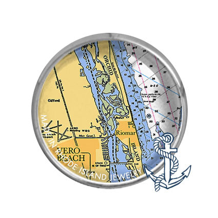 Vero Beach, FL -  Nautical Chart