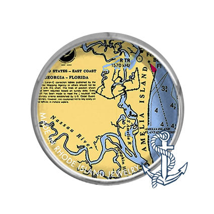 Amelia Island, FL -  Nautical Chart