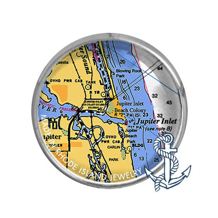 Jupiter, FL -  Nautical Chart