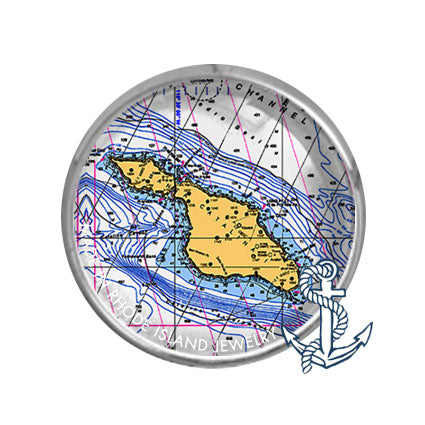 Catalina Island, CA -  Nautical Chart