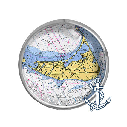 Nantucket, MA -  Nautical Chart