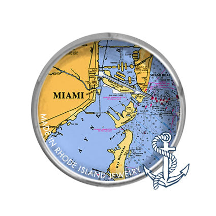 Miami, FL -  Nautical Chart