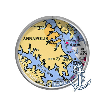 Annapolis, MD -  Nautical Chart