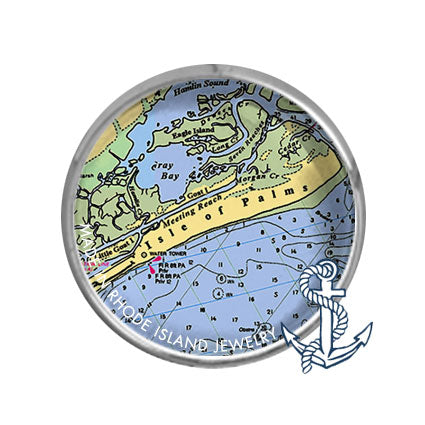 Isle of Palms, SC -  Nautical Chart