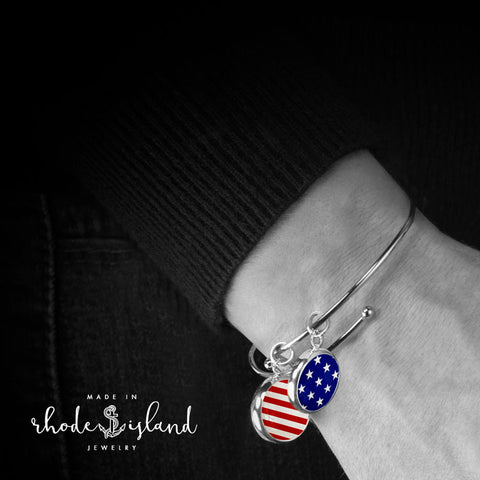 Stars and Stripes Bangle Set