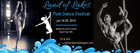 land of lakes pole dance festival minnesota pole competitions