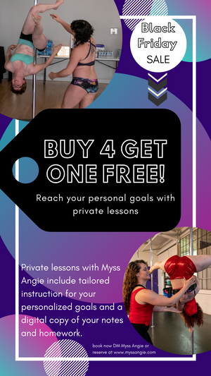 BUY 4 get ONE FREE - Private Lesson SALE